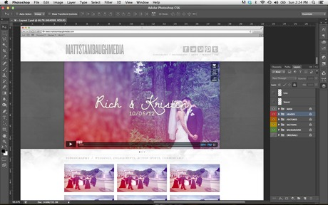 ...Website Project for mattstambaughmedia.com (Coming Soon)
