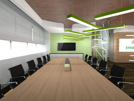 check out this Evernote office project