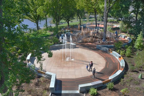 East 110th Street Playground completed 9.16.2013