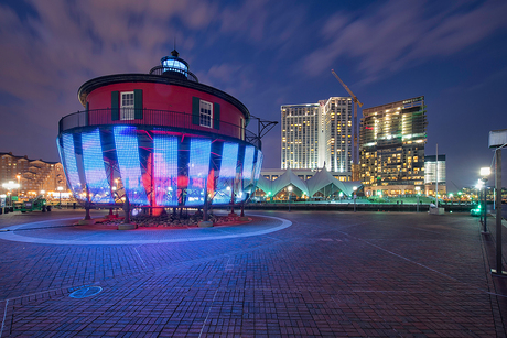Installation - Lightwave: Baltimore's Beacon