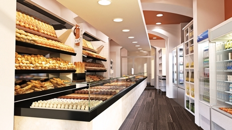 Bakery in Genova, IT