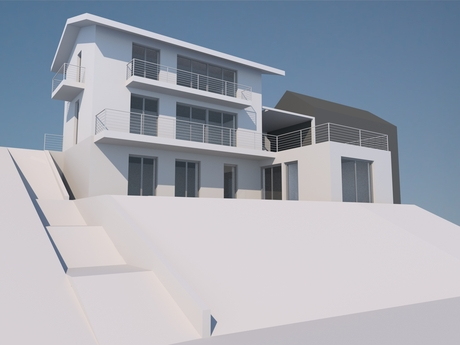 Single-Family House - reconstruction study