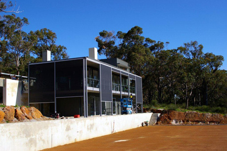 Yallingup Residence nearing completion
