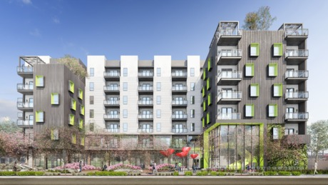 Updated Design and Renderings of our next Multi Family project. www.u-a-lab.com