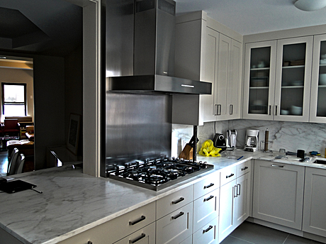 Photos of Mike's recently completed project: Kitchen