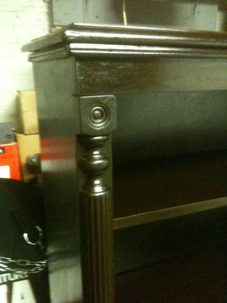 ...I restored this exquisite Oak Bookshelf. circa. 1920's