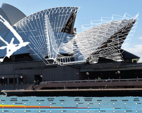 Hack. _precedent: Utzon-Sydney Opera _mutation: external structural location