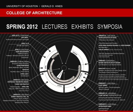 UH CoA Spring 2012 Lectures / Exhibits / Symposia