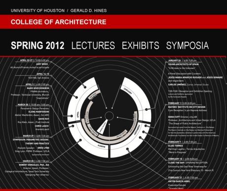 UH CoA Spring 2012 Lectures / Exhibits / Symposia