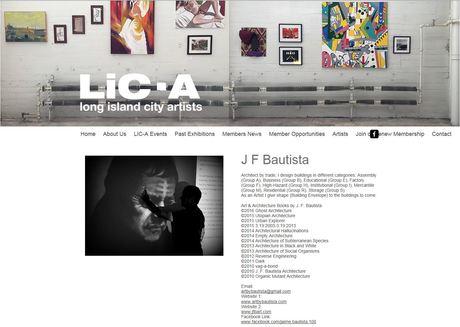 J. F. Bautista at LIC-Artists