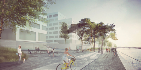 3rd Prize Baakenhafen, Hafen City Hamburg with Projectbuero Sinai, Berlin
