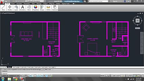 new project in autocad 2012 (activated)
