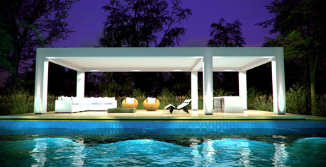 Pool House Rendering