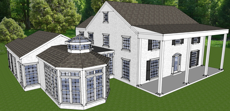 Bidding to soon begin on a 1000 sq.ft. luxury home addition.