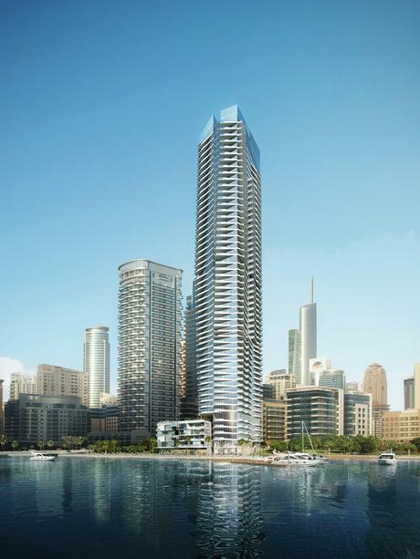 Dubai Marina High Rise Tower