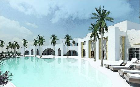 Boutique Hotel Pool and Spa