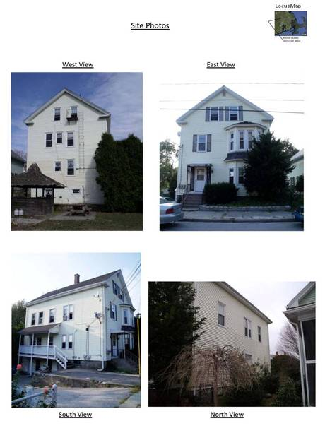 Elevations of Existing Conditions