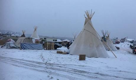Volunteered at camp school, Standing Rock