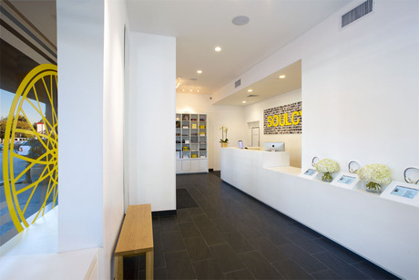 Fresh photo of Brentwood project, completed June 2012. Courtesy of Y.K. Cheung Photography