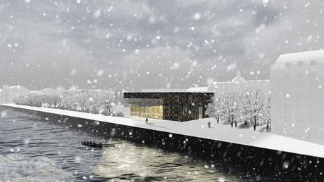 A winter library_Copenhagen