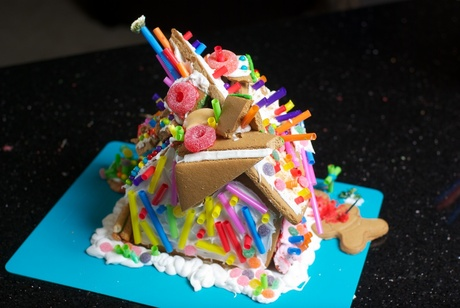 Gingerbread House Deconstructed