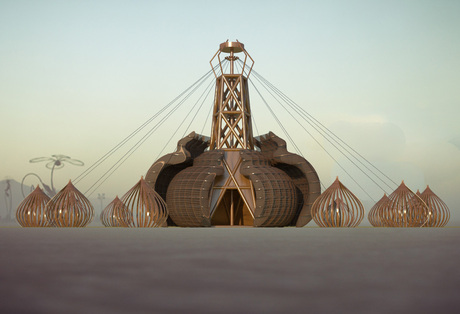 Burning Man 2012 - Fertility 2.0 - Art Grant submission : Singularity Transmissions