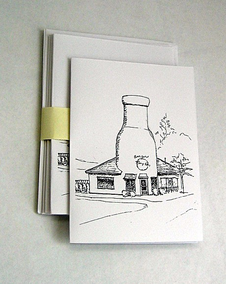 I'm preparing for some arts & crafts shows where I'll sell my architectural sketches.