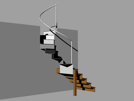 stair model for Budihalim Won Addition