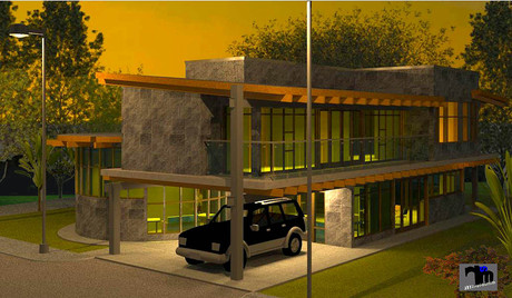 Proposed JSM Residence (Evening View)