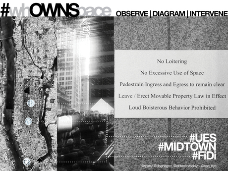 #whOWNSpace Action in NYC tomorrow: http://www.domusweb.it/en/news/whownspace-observe-diagram-intervene/