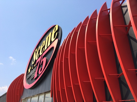 Completed the facade design and installation of Scene 75 Entertainment Center in Cincinnati, OH
