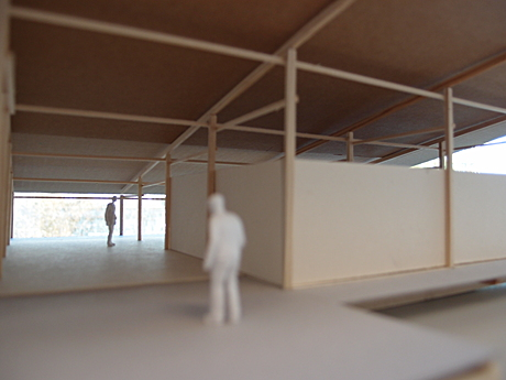 thesis - photo of 1:50 working model