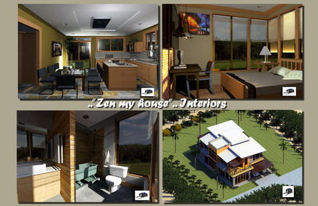 Zen my house..Project-Interiors