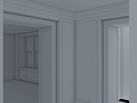 Modeling the new project, closing in on texture mapping