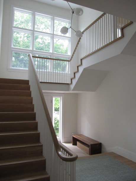 summer house stair