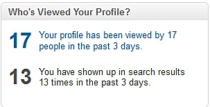 wouldn't a *profile views* section be cool?