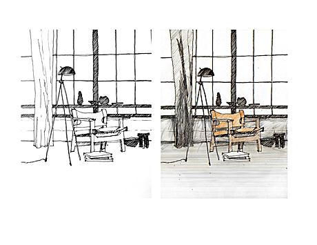 sketch/render experiment