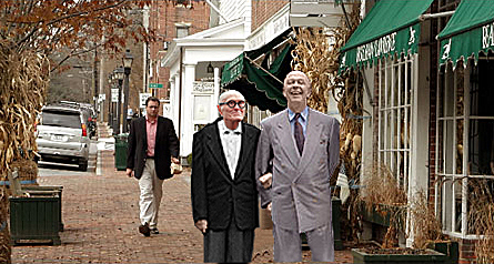 Back from the dead: David Whitney and Philip Johnson spotted on the way to the altar http://barkitecturemag.com/