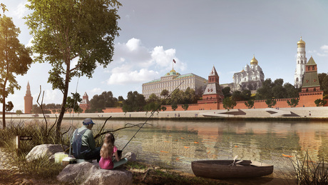 Moscow Future Ports | Winning concept for the International Moscow River Competition