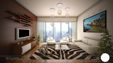 New York - Living room