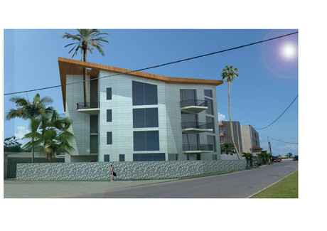 three storeys appartments building study, libreville, la sablière