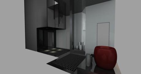 lobby remodel