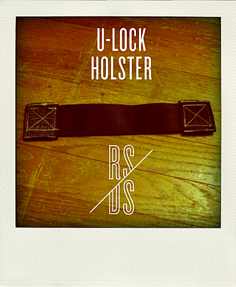 Hand-Crafted U-Lock Holsters for cyclists