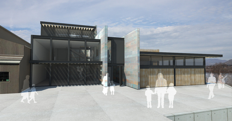 entrance of Pybus Annex design competition