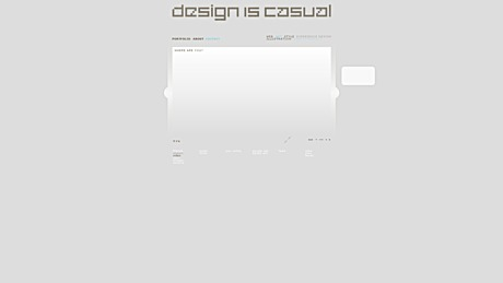 renovating my website - http://www.designiscasual.com/