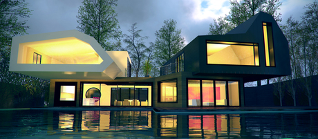 Modern House Design - www.spacialists.com