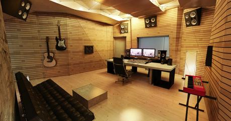 Recording Studio Contro Room | Render