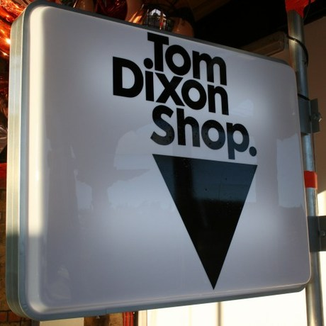 Tom Dixon Shop / The Dock signage