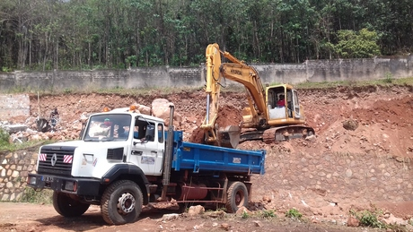 Rayan Residential Building_Construction Site - Bangui