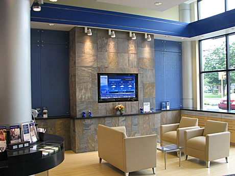 New 3,000 sf full service branch bank for People's United Bank